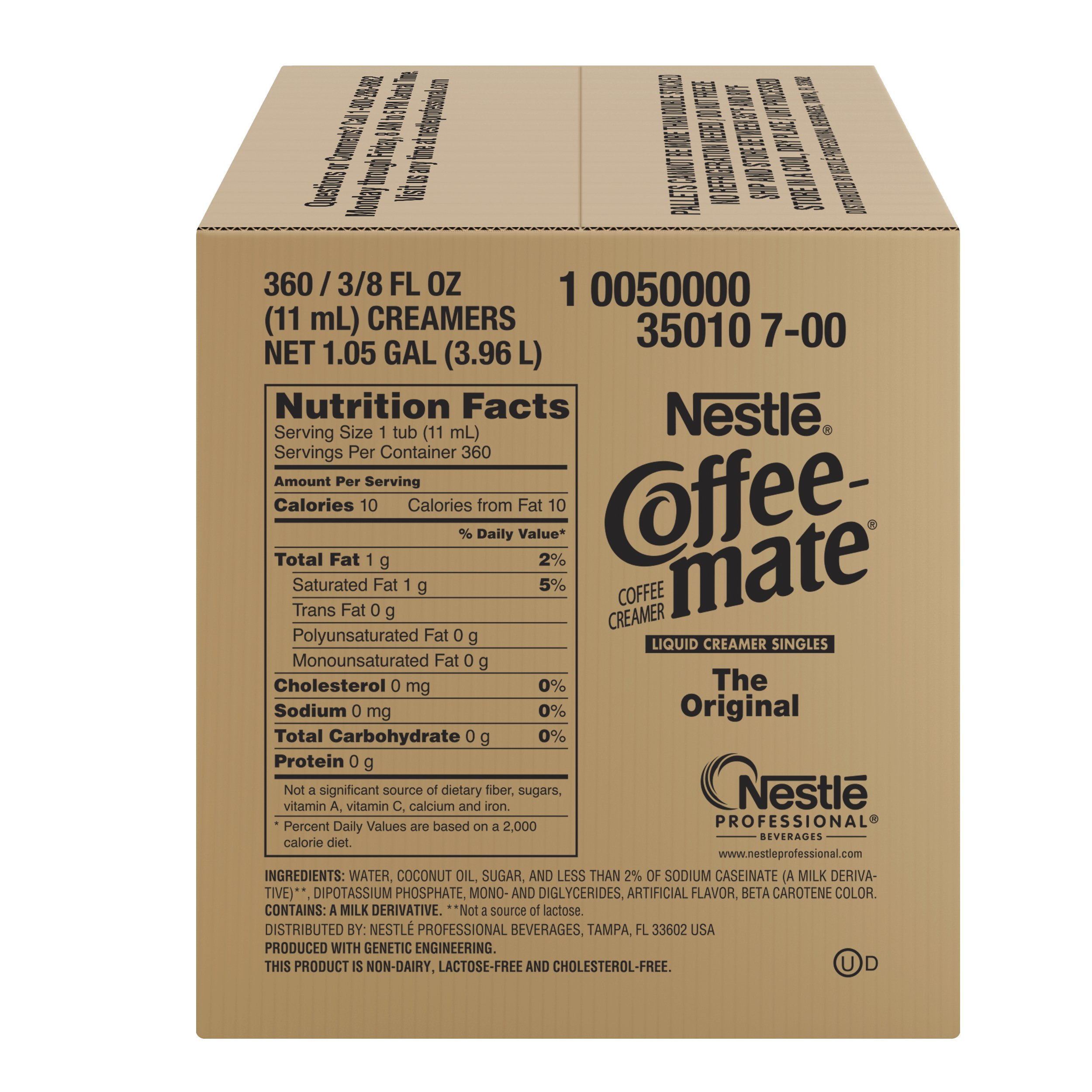 NESTLE COFFEE-MATE Coffee Creamer, Original, liquid creamer singles, 360 Count (Pack of 1) by Nestle Coffee Mate (Image #6)