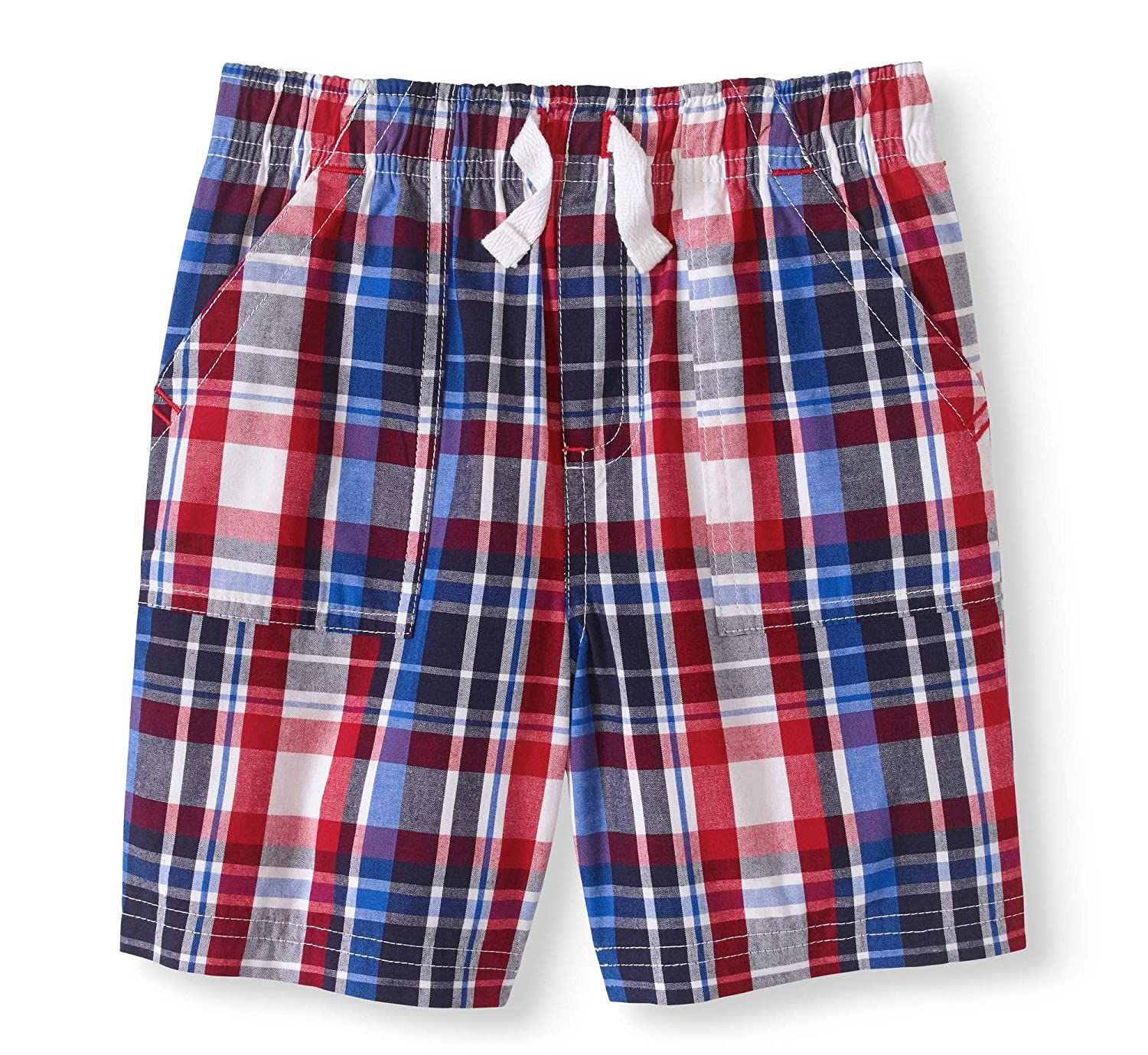 Patriotic Boys Shorts, Red White and Blue Stars and Stripes