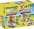 Playmobil - 5046 - Jeu de Construction - Coffret Hôpital avec Secouristes et Policiers