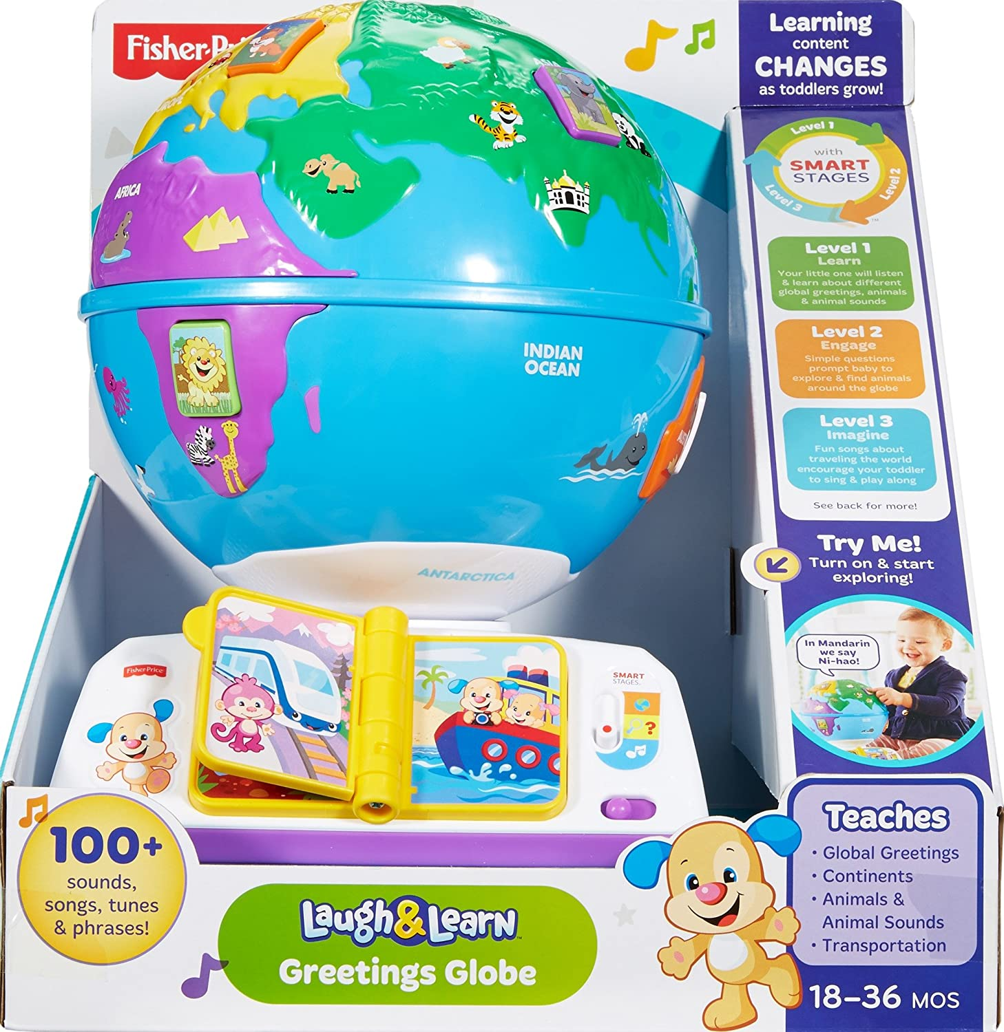 Amazon Fisher Price Laugh & Learn Greetings Globe Toys & Games