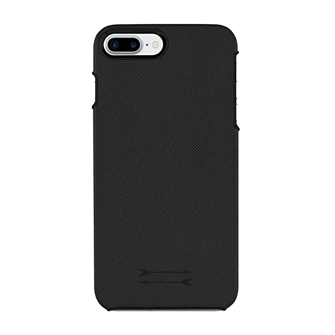 finest selection 2ee58 b6049 Amazon.com: Uri Minkoff Saffiano Leather Wrap Case for iPhone 7 Plus ...