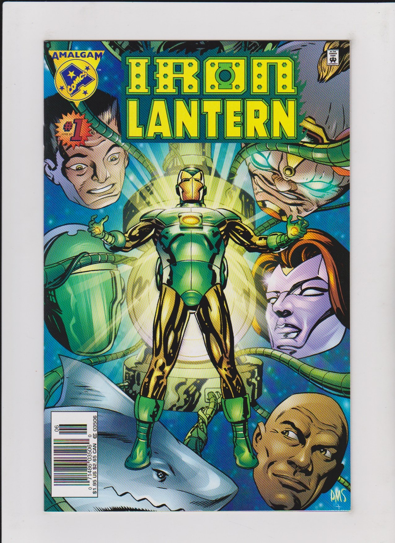 Iron Lantern 1 Newsstand Edition Kurt Busiek Amazon Com Books