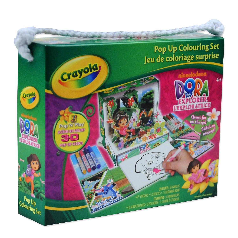Crayola Pop Up Colouring Set Dora Drawing Sets