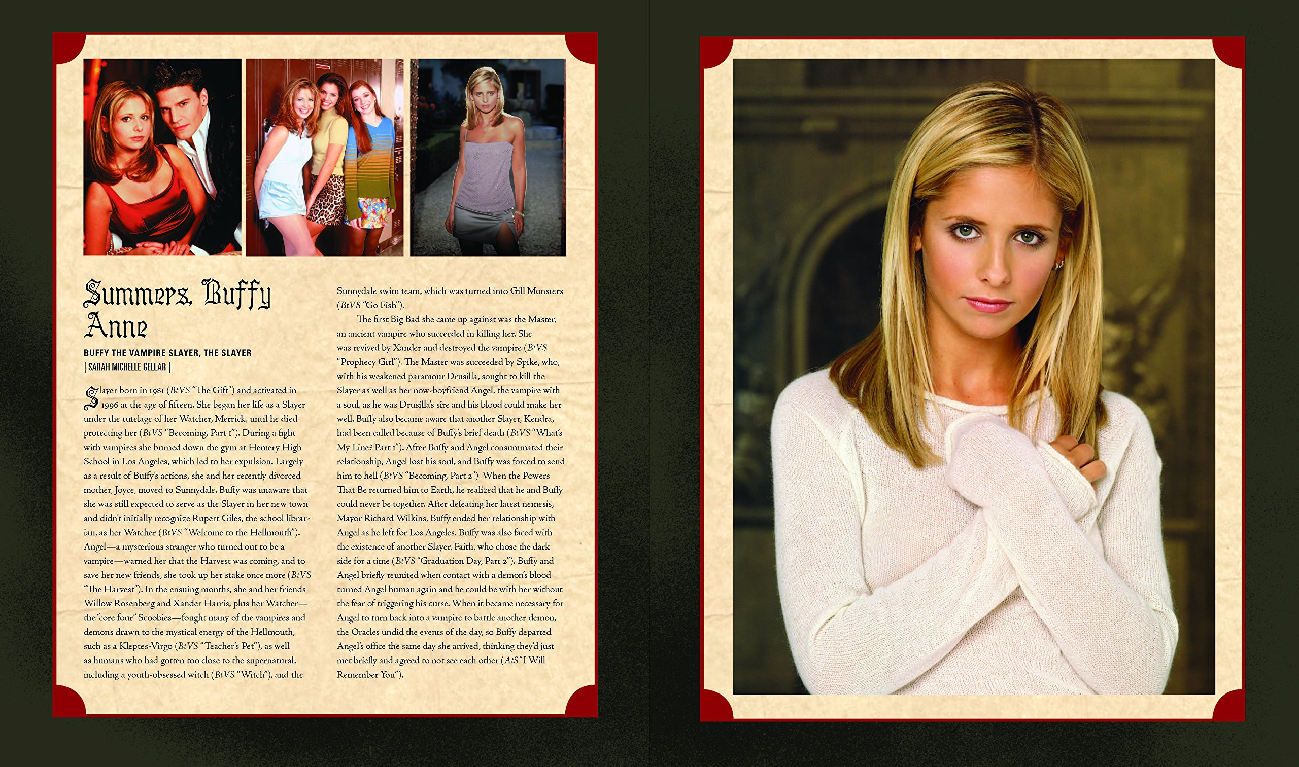 Amazon.com: Buffy the Vampire Slayer Encyclopedia: The Ultimate Guide to  the Buffyverse (9780062659668): Nancy Holder, Lisa Clancy: Books