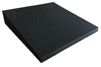 Panel fonoabsorbentes Poliuretano de 20 a 70 mm 30 kg m³ 1 pieza aprox. 33 x 33 cm: Amazon.es: Instrumentos musicales