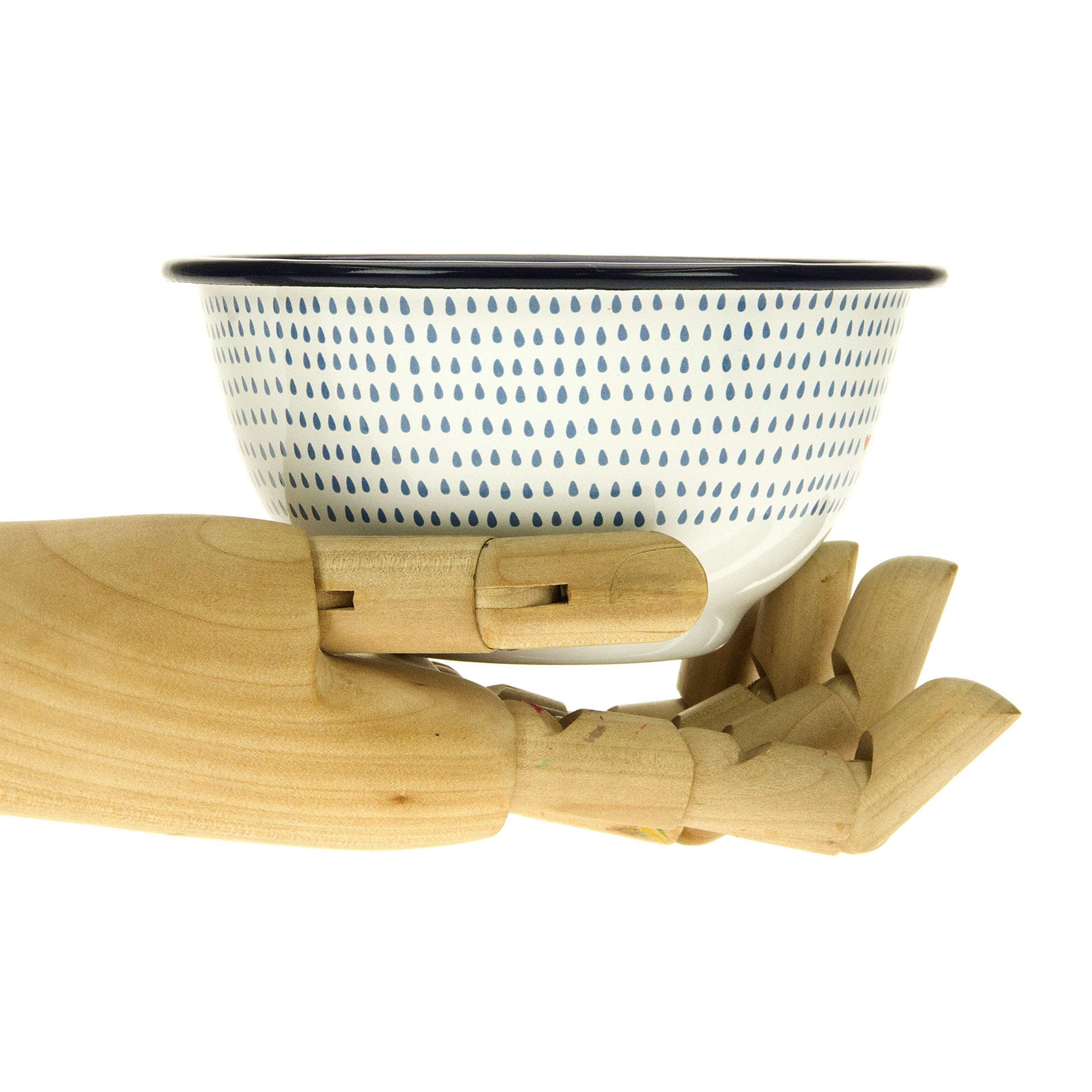 Folklore Enamel Bowls, Seasons Designs (Set of 4) by Folklore (Image #4)