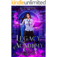 Legacy Academy: Year Two: Paranormal Academy Romance book cover