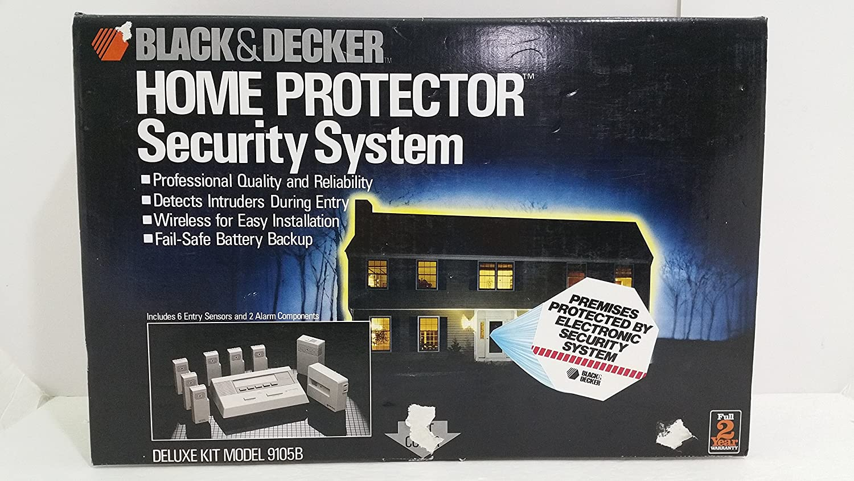 Black Decker Home Protector Security System 9105b Alarms Entry Alarm Circuit Improvement