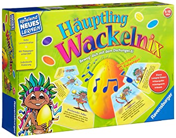 Häuptling Wackelnix Ravensburger Spiele