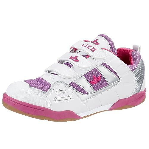 Lico - Sneaker Bambina, Bianco (Weiss), 35