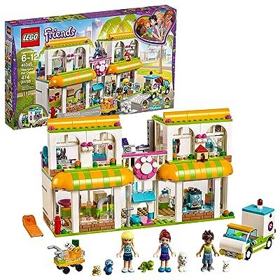 LEGO Friends Heartlake City Pet Center 41345 Building Kit (474 Pieces): Toys & Games