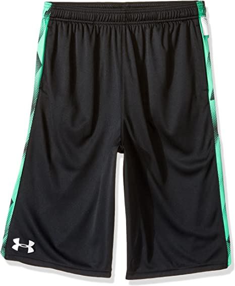 Under Armour Boys Eliminator Printed Shorts-Graphite Youth//X-Small