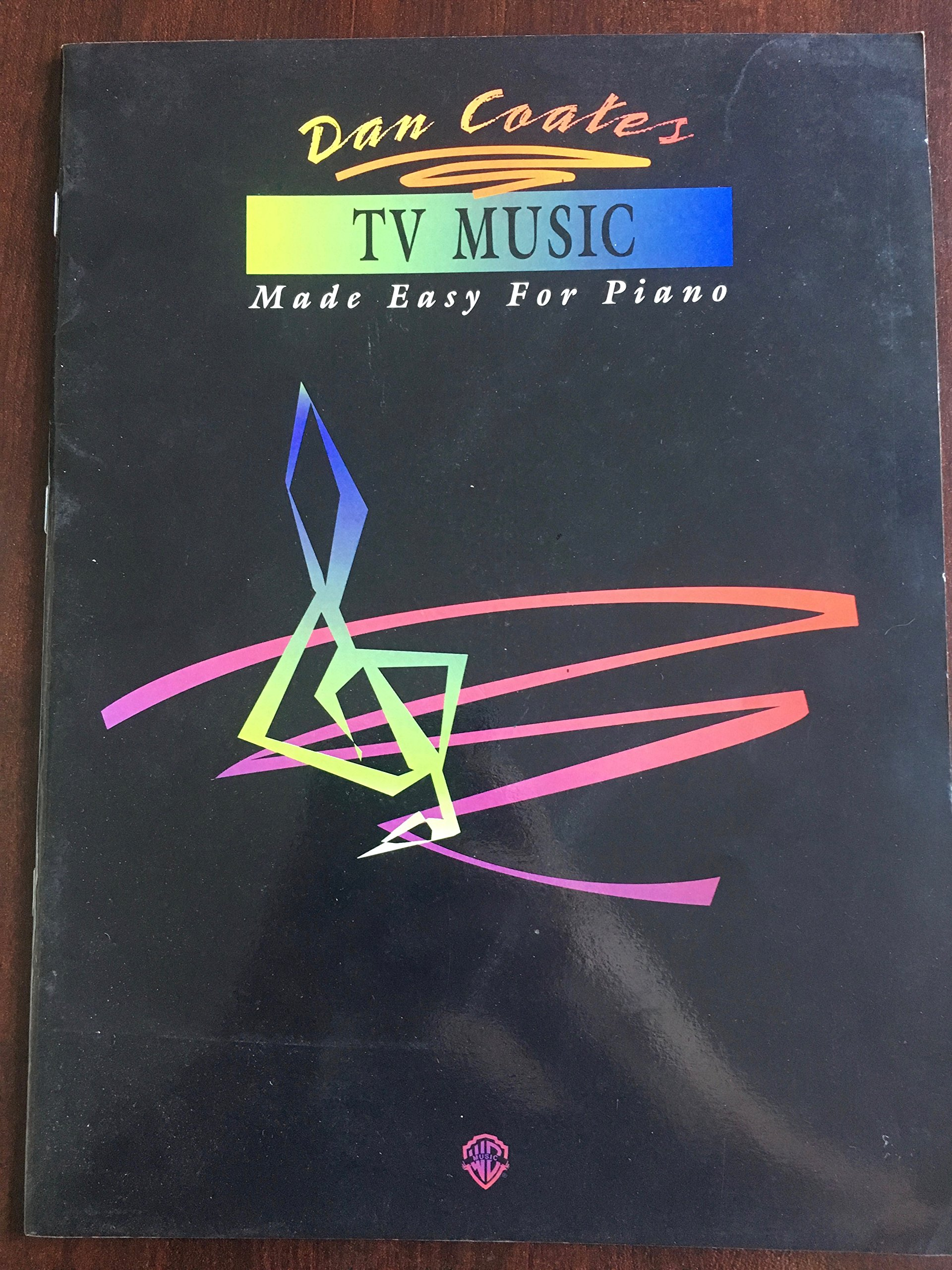 tv music made easy for piano dan coates