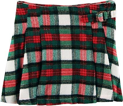 8a7b92d83 Amazon.com: Carter's Girls' 2T-8 Plaid Pleated Skirt: Clothing