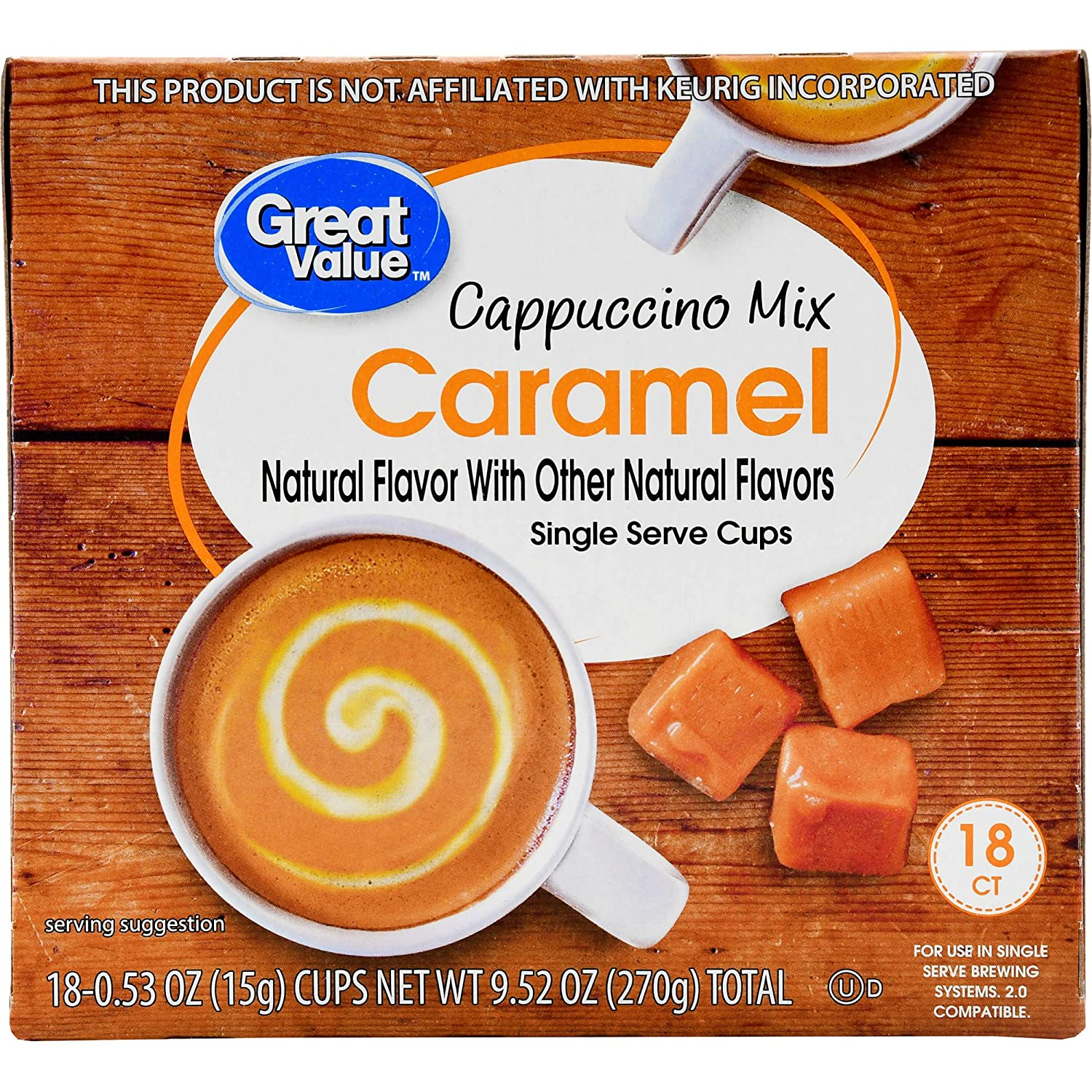 This is Actually the Fresh Picture Of Walmart Brand K Cups