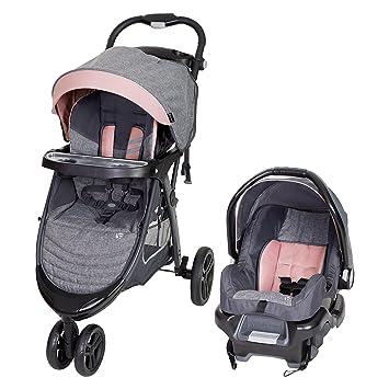 Amazon Com Baby Trend Skyline 35 Travel System Starlight Pink Baby