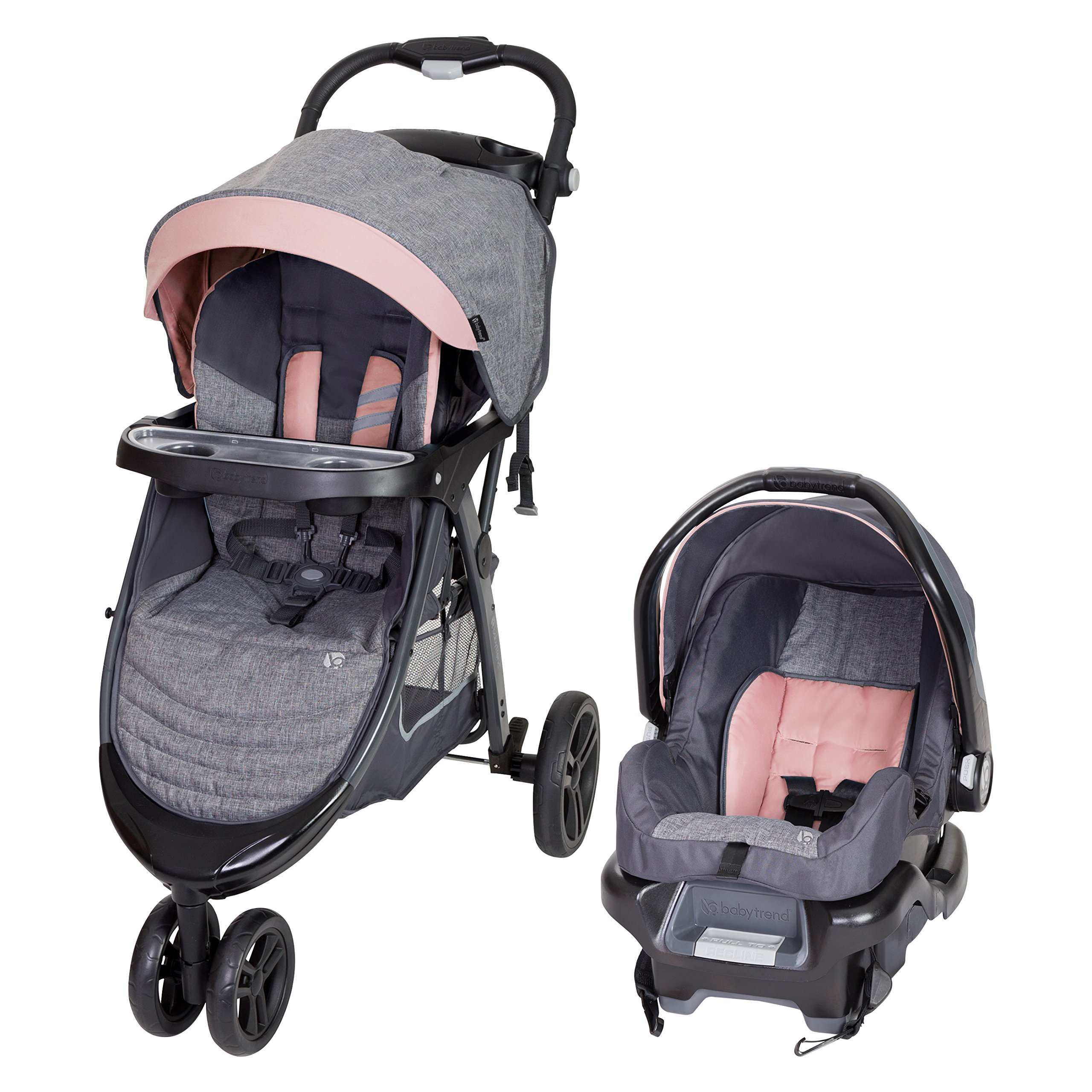Baby Trend Skyline 35 Travel System, Starlight Pink