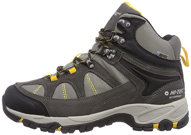 Hi-Tec Altitude Lite i WP, Bottines de Randonnée Homme - Gris - Grau (051 Charcoal/Warm Grey/Gold), 42 EU