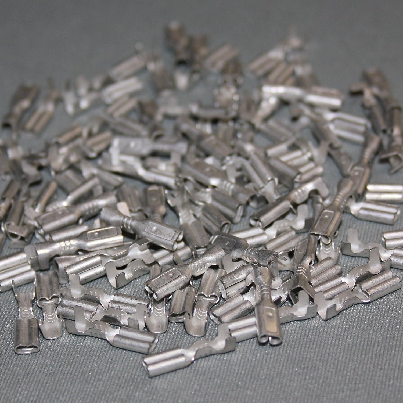 Kabelschuhe Ringkabelschuhe Steckverbinder Flachsteckhülsen 50tlg Sortiment