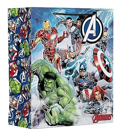 Vengadores bolsa de regalo grande Marvel Comic niños feliz ...