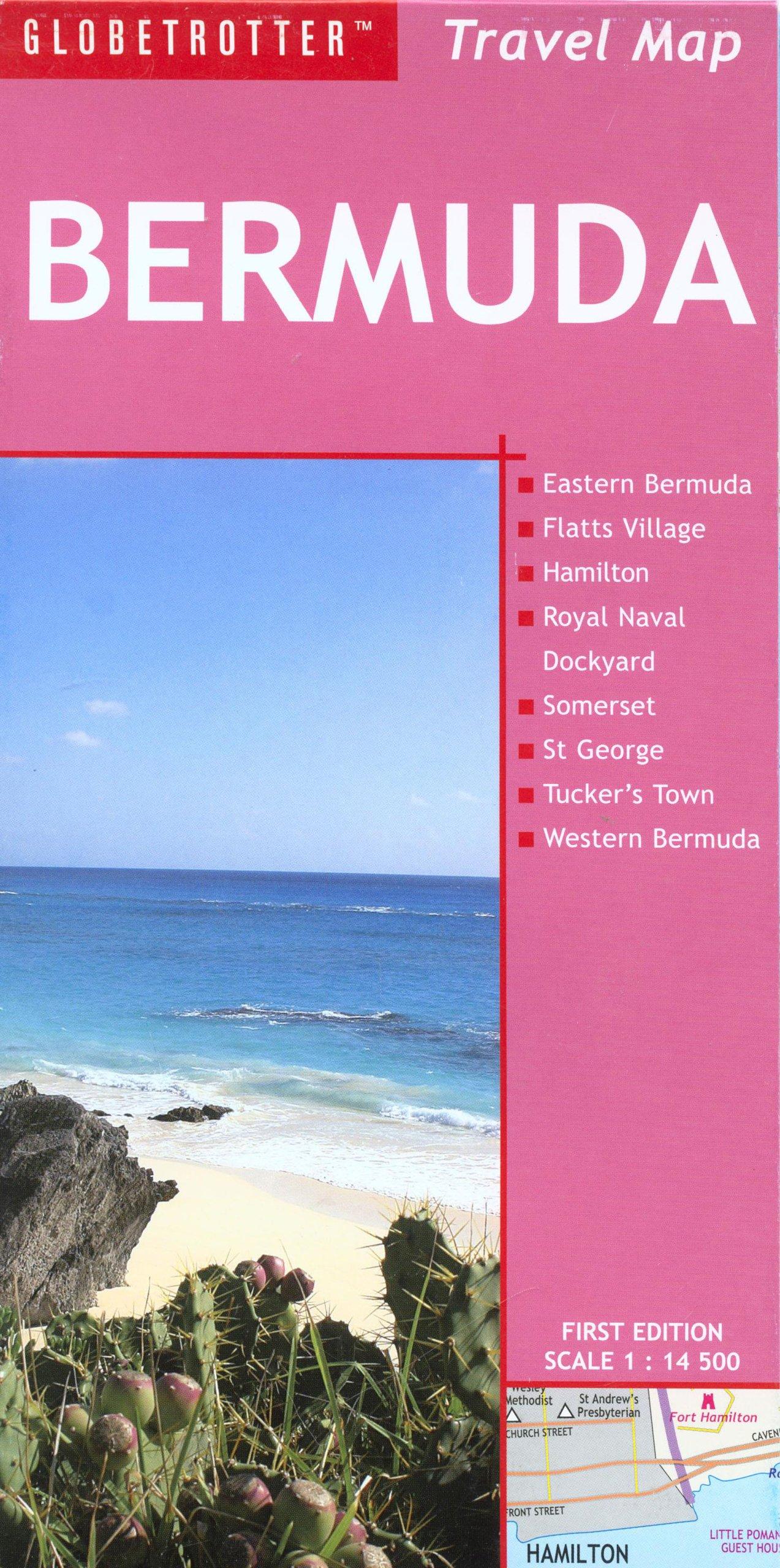 Travel Amazon ca Bermuda MapGlobetrotter9781845374532Books hQtsrd
