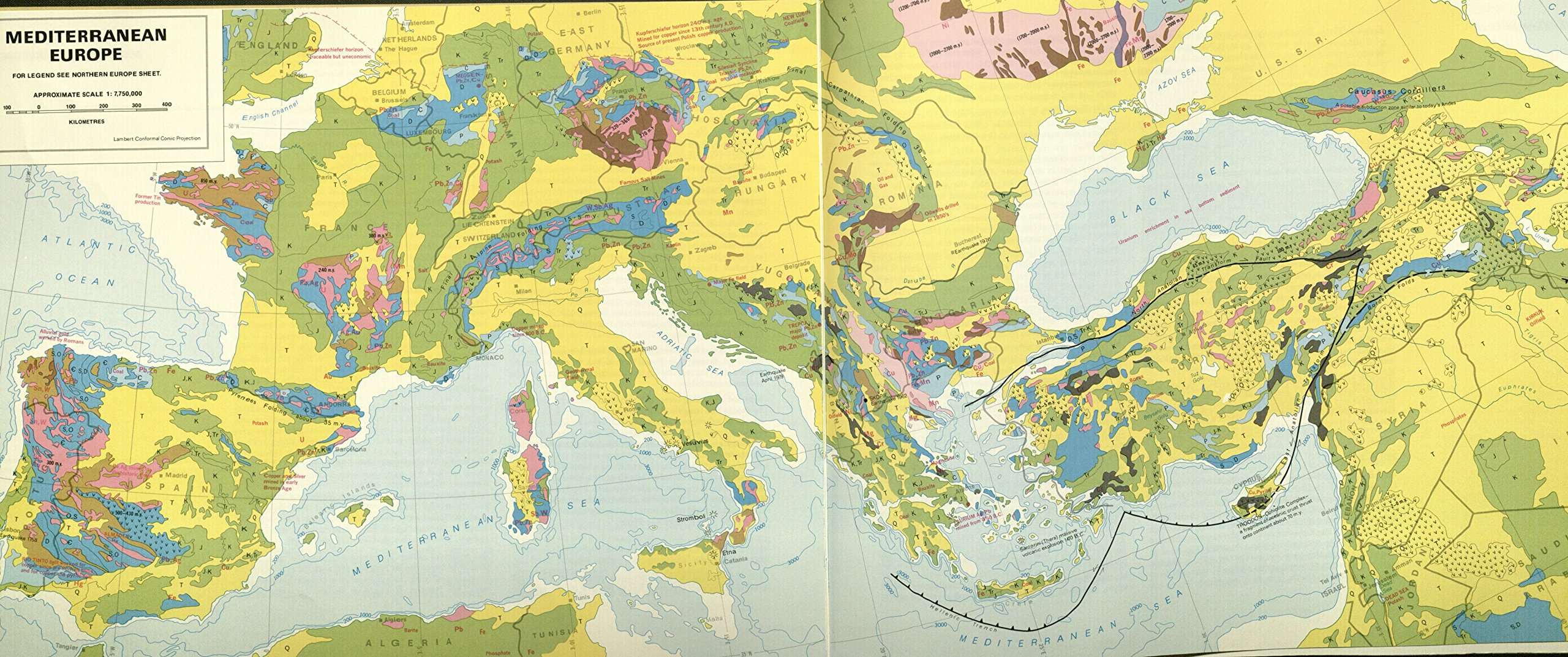 World Atlas of Geology and Mineral Deposit: Duncan R  Derry