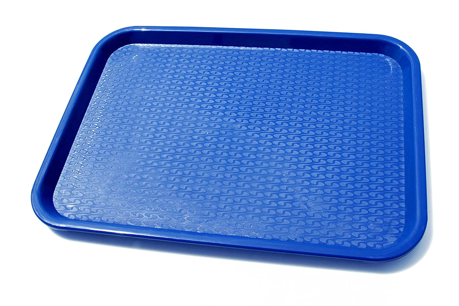 New Star Foodservice 24333 Fast Food Tray, 10.5 by 13.5-Inch, Black, Set of 12