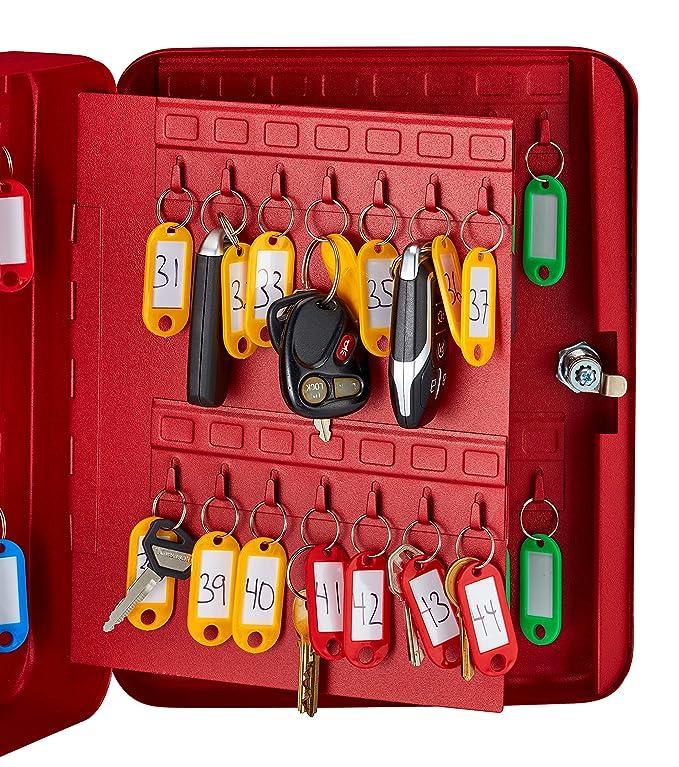 Amazon.com: Armario para llaves con cerradura AdirOffice, 60 ...