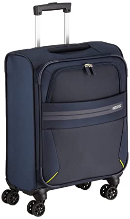 le dernier f4940 a0454 American Tourister Summer Voyager Valise 4 Roues, 55 cm, 36 L, Midnight Blue