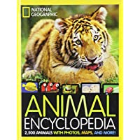 National Geographic Animal Encyclopedia: 2,500 Animals with Photos, Maps, and More! (Encyclopaedia) by Lucy Spelman(2012…