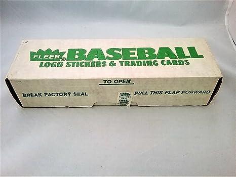Amazon Com 1988 Fleer Baseball Card Factory Sealed Set Green