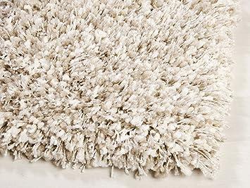 Ragolle Shaggy Teppich Twilight 2211 Weiss Beige 11 240x300 Cm