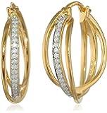 Diamond Cuff Earrings (0.2cttw, G-H Color, I2-I3 Clarity)