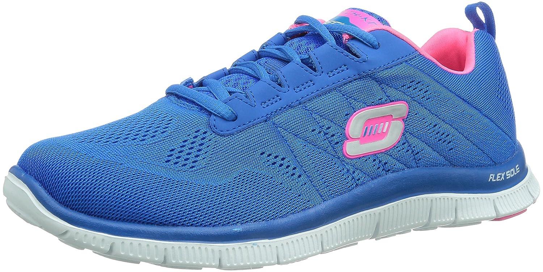 Skechers Damen Flex Appeal Sweet Spot Sneaker, Pink Purple  37 EU Blau (Blhp)