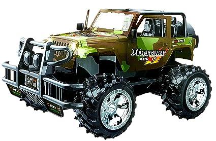 Buy Toyshine Remote Control Jeep Car Toy Multicolour Military