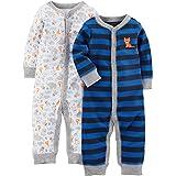 Simple Joys by Carter's Baby - Juego de 2 piernas de algodón para Dormir y Jugar