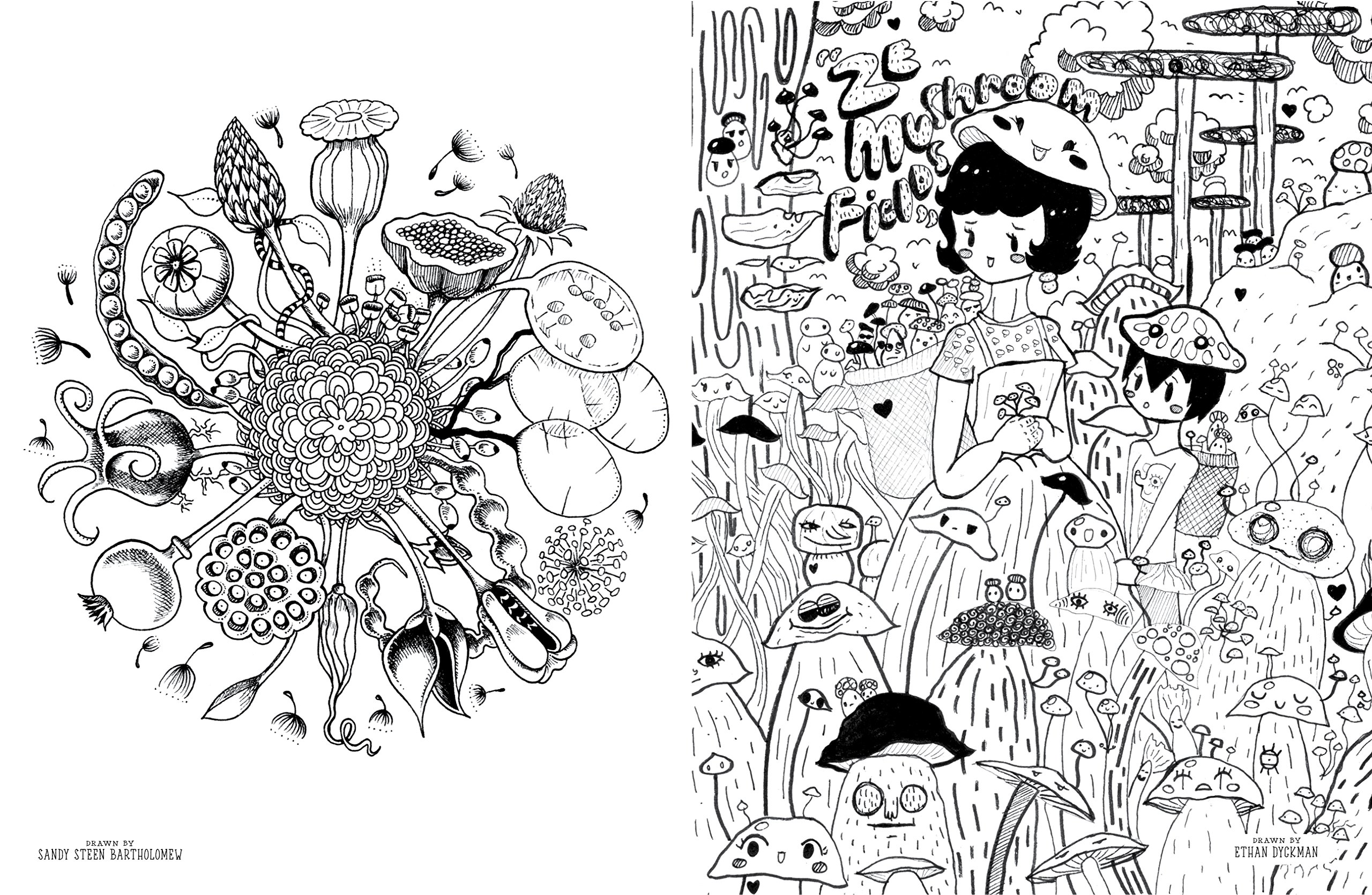 Doodlers Anonymous Epic Coloring Book: An Extraordinary Mashup of ...
