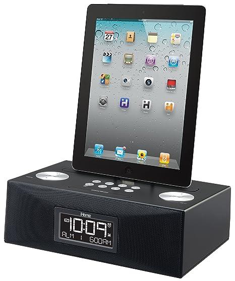 iHome iD83 Reloj Digital Negro - Radio (Reloj, Digital, FM, iPad,