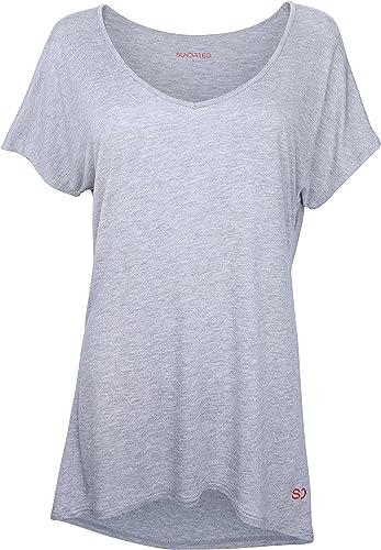 Sundried Camiseta Holgada para Mujeres para Deporte Yoga Gimnasio ...