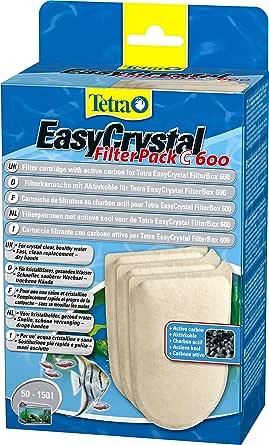 Tetra Easy - Cartucho filtro no carbón Easy Cristal 250/300 (Paquete de 3): Amazon.es: Productos para mascotas