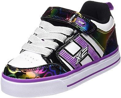 promo code 8912e 30aff Agodor Damen Keilabsatz High Heels Pumps mit Glitzer und Plateau Moderne  Wildleder Schuhe,