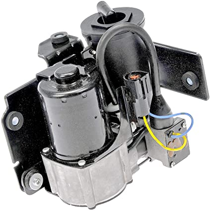 APDTY 050313 Air Ride Suspension Compressor Assembly Metal Mount Bracket  Valve Body & Accumulator Dryer 2007-2013 Ford Expedition 2007-2013 Lincoln
