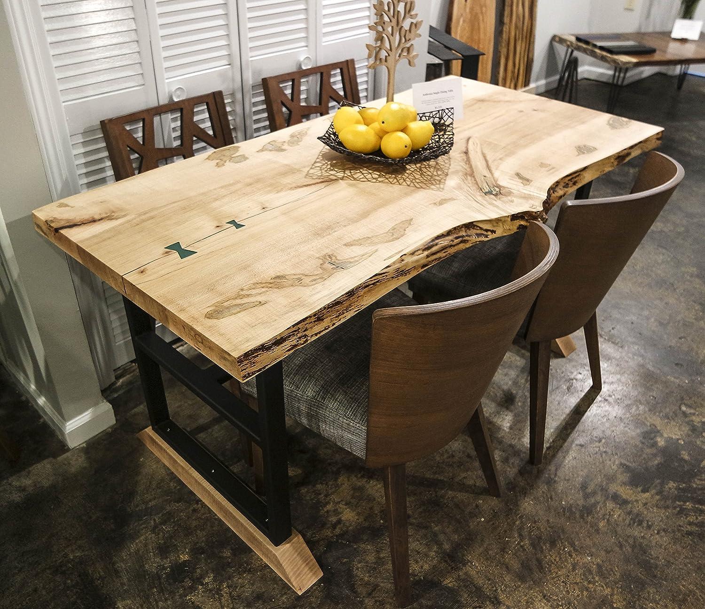 Amazon.com: Ambrosia Maple Dining Table: Handmade