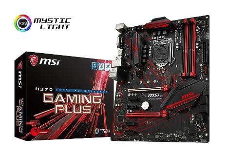 PC GAMING I7 SCHEDA MADRE h370 msi gaming plus
