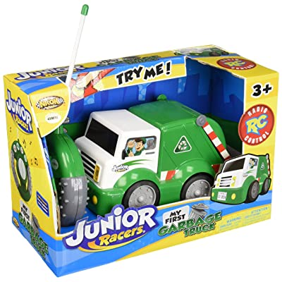 NKOK Junior Racers Rc My First Garbage Truck: Toys & Games