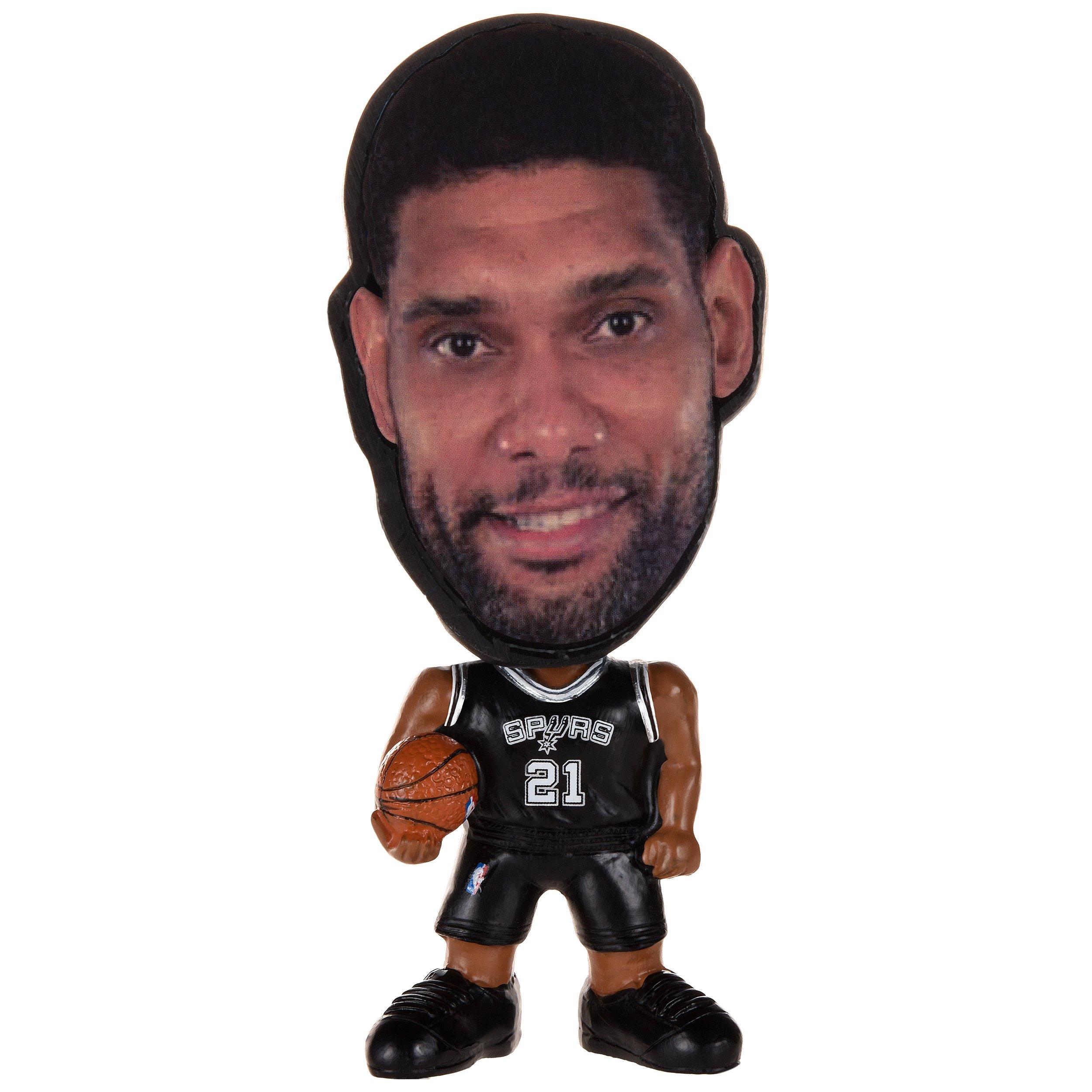 FOCO NBA San Antonio Spurs Tim Duncan Unisex Duncan T. #21 Flathlete Figurine, One Size