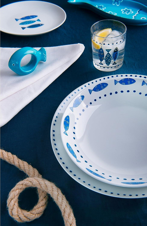 Excelsa Ocean Glasses Set 3/units Multi-Colour
