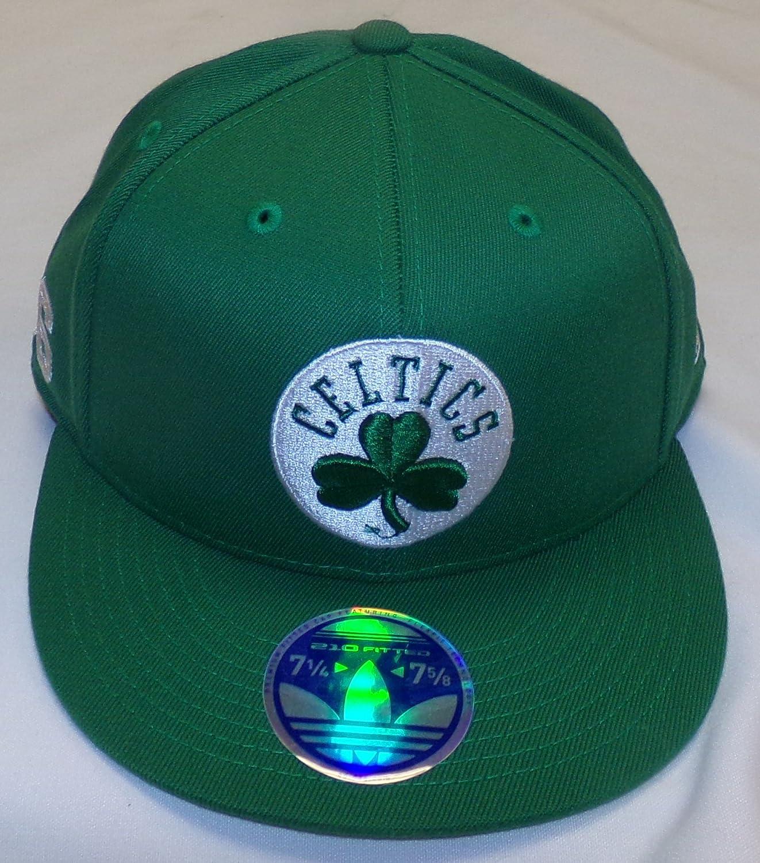 e1ce78d1c25ea Amazon.com : Boston Celtics #36 Flat Bill Flex Adidas Hat - Size L ...