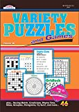 Variety Puzzles and Games Puzzle Book-Volume 46