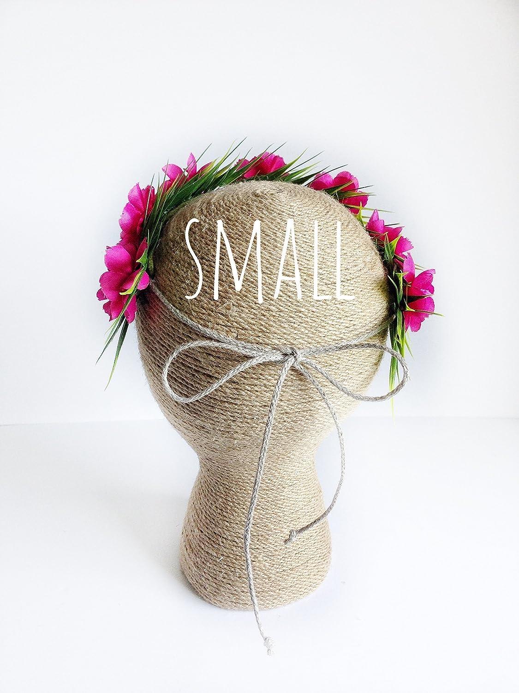 Amazon moana flower crown headband tieback haku lei child size amazon moana flower crown headband tieback haku lei child size 13 16 handmade izmirmasajfo